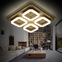 东联LED客厅灯吸顶灯长方形圆形卧室灯具大厅创意后现代简约灯饰X295