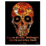 预订 Sugar Skulls: Midnight Adult Coloring Book (Volume 2) [I