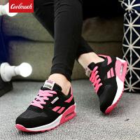 【领券立减100元】Galendar女子跑步鞋2018新款气垫缓震透气运动时尚慢跑鞋JD228