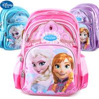 迪士尼冰雪奇缘公主书包小学生书包减负护脊1-4年级女童背包