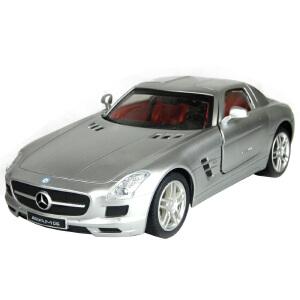 AULDEY 奥迪双钻 1:16授权遥控汽车模型 奔驰SLS(银) 充电版 儿童玩具 258810-8C