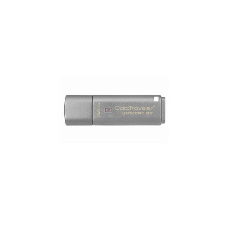 金士顿 Kingston DTLPG3 32G U盘 USB3.0 金属优盘哦 金属  硬件加密u盘 保护数据安全