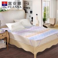 富安娜家纺 床垫保护垫床笠款橡筋款 舒芯保护床垫 香草时光