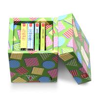 0岁高端定制绿盒全套4册 0-3岁幼儿童启蒙认知触摸玩具洞洞翻翻书 宝宝幼儿早教书创意婴儿图书绘本精美礼盒装 亲子互动趣