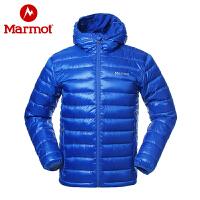 Marmot/土拨鼠男士拒水鹅绒700蓬透气防风保暖轻薄休闲羽绒服