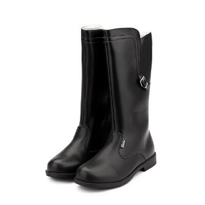 【159元任选2双】迪士尼Disney童鞋女童冬季保暖时尚靴子S73582 S73567 【开学季:限时159元2双】