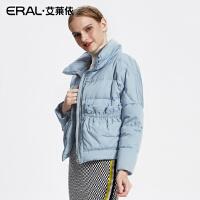 ERAL/艾莱依2017秋冬新款大口袋羽绒服女短款轻薄上衣12065-FDAA