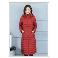 冬季棉�\女2018新款�p薄中老年中�L款修身棉衣�����b羽�q外套