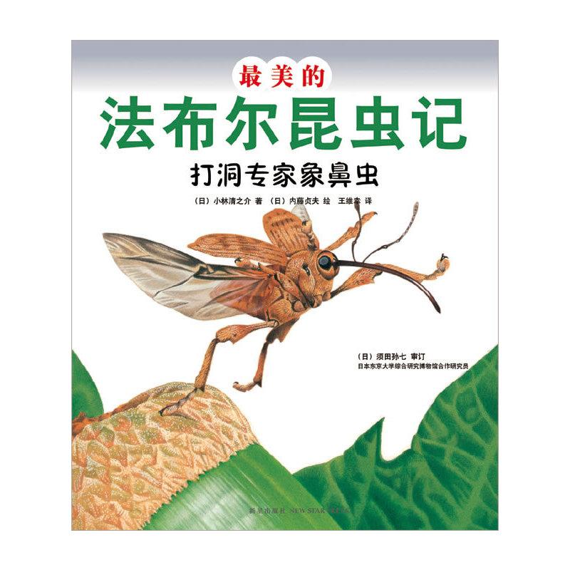 最美的法布尔昆虫记:打洞专家象鼻虫(优美图画+生动文字+趣味实验+法布尔生活故事=最值得珍藏的《昆虫记》绘本)