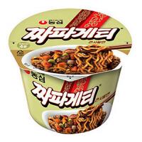 韩国进口食品 农心 炸酱面大碗面123g碗