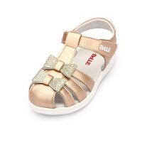 百丽童鞋幼童学步鞋2019夏季女童宝宝鞋儿童时尚闪灯鞋休闲凉鞋(1-5岁可选)DE5942