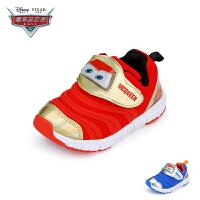 【119元任选2双】迪士尼Disney童鞋男童休闲运动鞋经典毛毛虫女童幼童鞋子学步鞋(1-3岁可选)DY5251