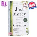 【中商原版】正义的慈悲:美国司法中的苦难与救赎 英文原版 Just Mercy
