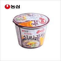 韩国进口食品 农心牛骨汤大碗面 桶装方便速食面 111g/碗