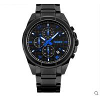 潮流时尚腕表 手表男士防水个性石英手表大表盘钢带商务男表
