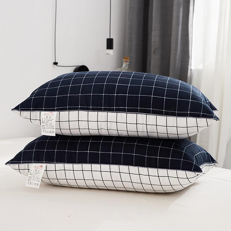 念羽NIANYU 枕芯 高弹丝绒安睡枕头 单个装