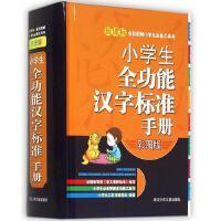 小学生全功能汉字标准手册精装彩图版小学生智趣多功能辞典工具