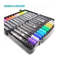 台湾 SIMBALION 雄狮 水彩笔 酷哥系列儿童水彩画笔12 24 36色