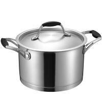爱仕达汤锅ASD 20CM阿拉贡304不锈钢汤锅 炖锅煮锅焖烧锅锅具QL1720