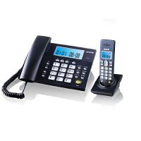 步步高 W101 数字无绳电话子母机 远距离 清晰通话 按键屏幕夜光 【灰蓝/象牙白】