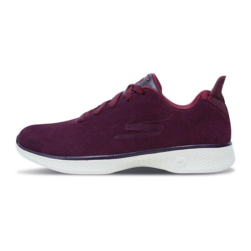 【*注意鞋码对应内长】SKECHERS斯凯奇GO WALK 4 女士轻质绑带健步鞋运动鞋14913