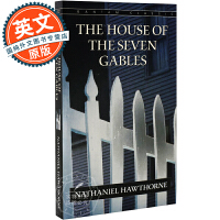 七个尖角阁的老宅 英文原版 The House of the Seven Gables 进口小说 Nathaniel