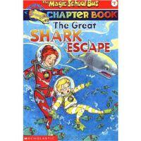 英文原版 神奇校车 儿童绘本英语启蒙 The Great Shark Escape (The Magic School