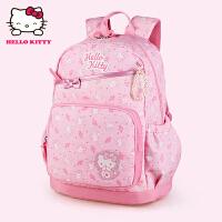 Hello Kitty凯蒂猫 KT1080粉红 幼儿园护脊书包小学生书包 当当自营