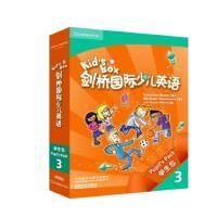 剑桥国际少儿英语学生包第一版kidsbox3kb3 培训教材