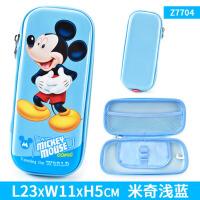 迪士尼小学生笔袋米奇男生女童冰雪公主文具盒韩国笔盒儿童大容量
