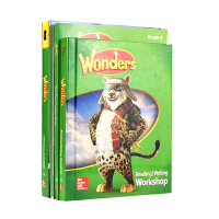 2017新版 美国加州教材 套装(4本) 四年级 Reading Wonders Grade 4 package