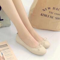 O'SHELL欧希尔新品057-1519韩版平底鞋女士豆豆鞋