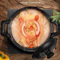 砂锅炖锅耐高温瓦罐汤煲陶瓷小号沙锅煲家用明火燃气汤锅大号