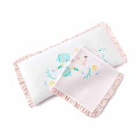 全棉时代 婴儿纱布方枕25x50cm1套
