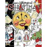 预订 Susie's Whimsical Christmas Coloring Book For All Ages [