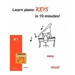 【预订】Learn Piano Keys in 10 Minutes!