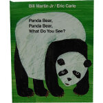 Panda Bear, Panda Bear, What Do You See?[Paperback] 熊猫,熊猫,你看到了什么?(平装)ISBN 9780805087994