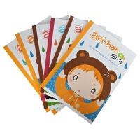 国誉(KOKUYO)DNA54-1 A5/40页创意小清新插画记事本 学生日记本子 帽子女孩 6本装当当自营