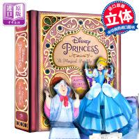 【中商原版】迪士尼公主魔法立体世界书 英文原版 Disney Princess: A Magical Pop-Up W