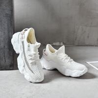 19秋季新款【舒适透气】网红百搭休闲运动鞋青春时尚前卫女鞋