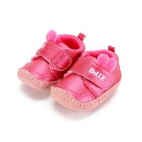 【99元任选2双】迪士尼童鞋女童宝宝鞋鞋秋冬学步鞋运动鞋休闲鞋(0-3岁可选)CE6308