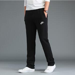 NIKE耐克男裤新款舒适宽松休闲裤运动跑步长裤804422-010