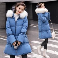 冬季孕后期中长款棉袄孕妇冬装棉衣韩版宽松加厚外套