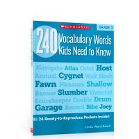 240 Vocabulary Words Kids Need to Know: Grade 3年级小学生需掌握的240