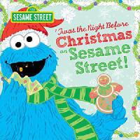 Twas the Night Before Christmas on Sesame Street 英文原版 芝麻街上的平