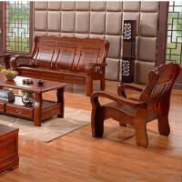 先创XC-SF3009木质办公沙发组合