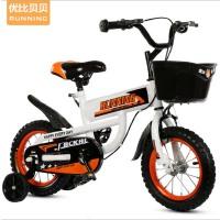 优比贝贝儿童自行车3-6岁男女童车12寸16寸儿童单车 优比贝贝