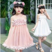 儿童雪纺连衣裙童装女童裙子户外新款韩版时尚公主裙休闲百搭小女孩裙子