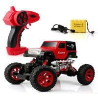 电动遥控车越野车赛车充电儿童玩具车男孩4岁四驱攀爬车遥控汽车