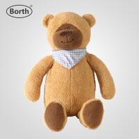 小熊热水袋可爱玩偶暖水袋注水PVC暖手宝无异味